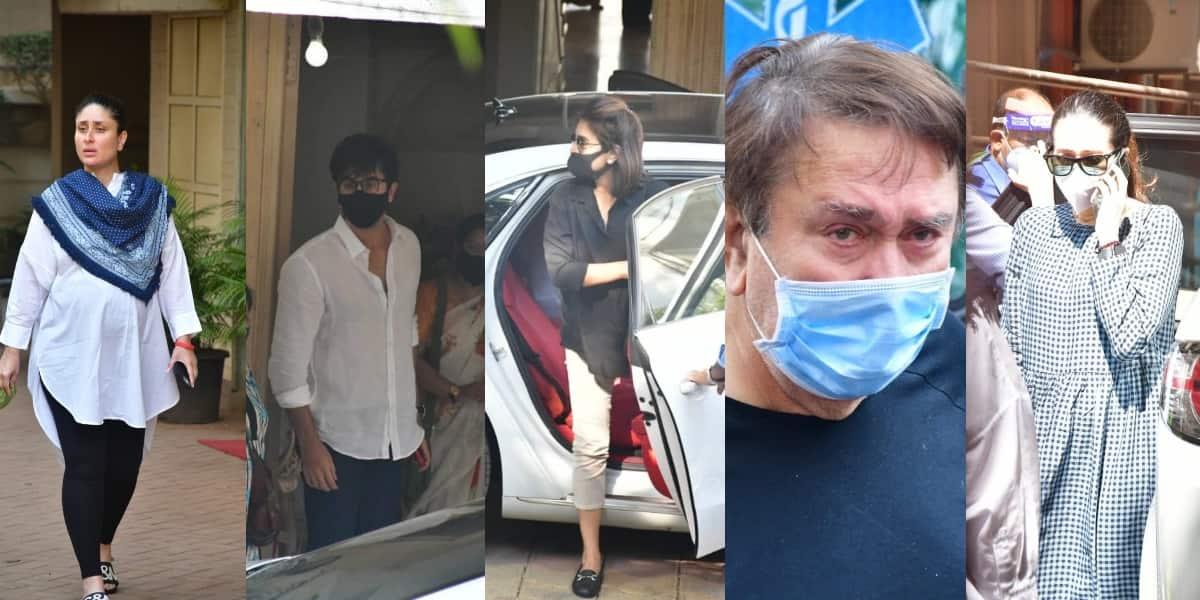 Rajiv Kapoor Dies: Ranbir, Kareena, Karisma, Neetu And Several Others Arrive At His Residence To Pay Last Tribute
