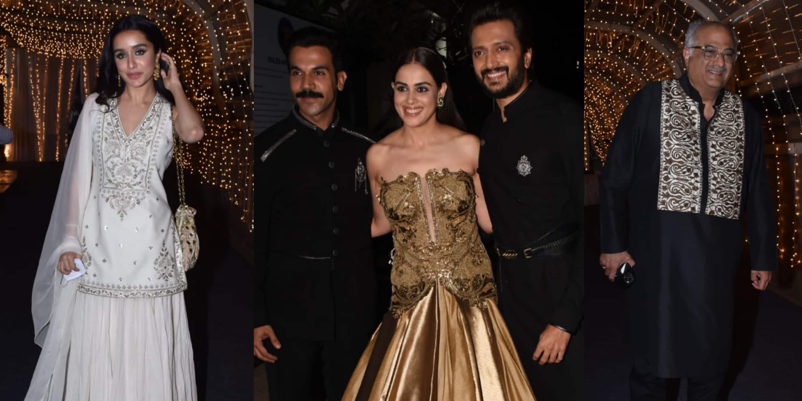 Priyaank Sharma-Shaza Morani Wedding Bash: Shraddha-Rohan Make Heads Turn; Rajkummar Rao, Sunny Deol And Other Celebs In Attendance