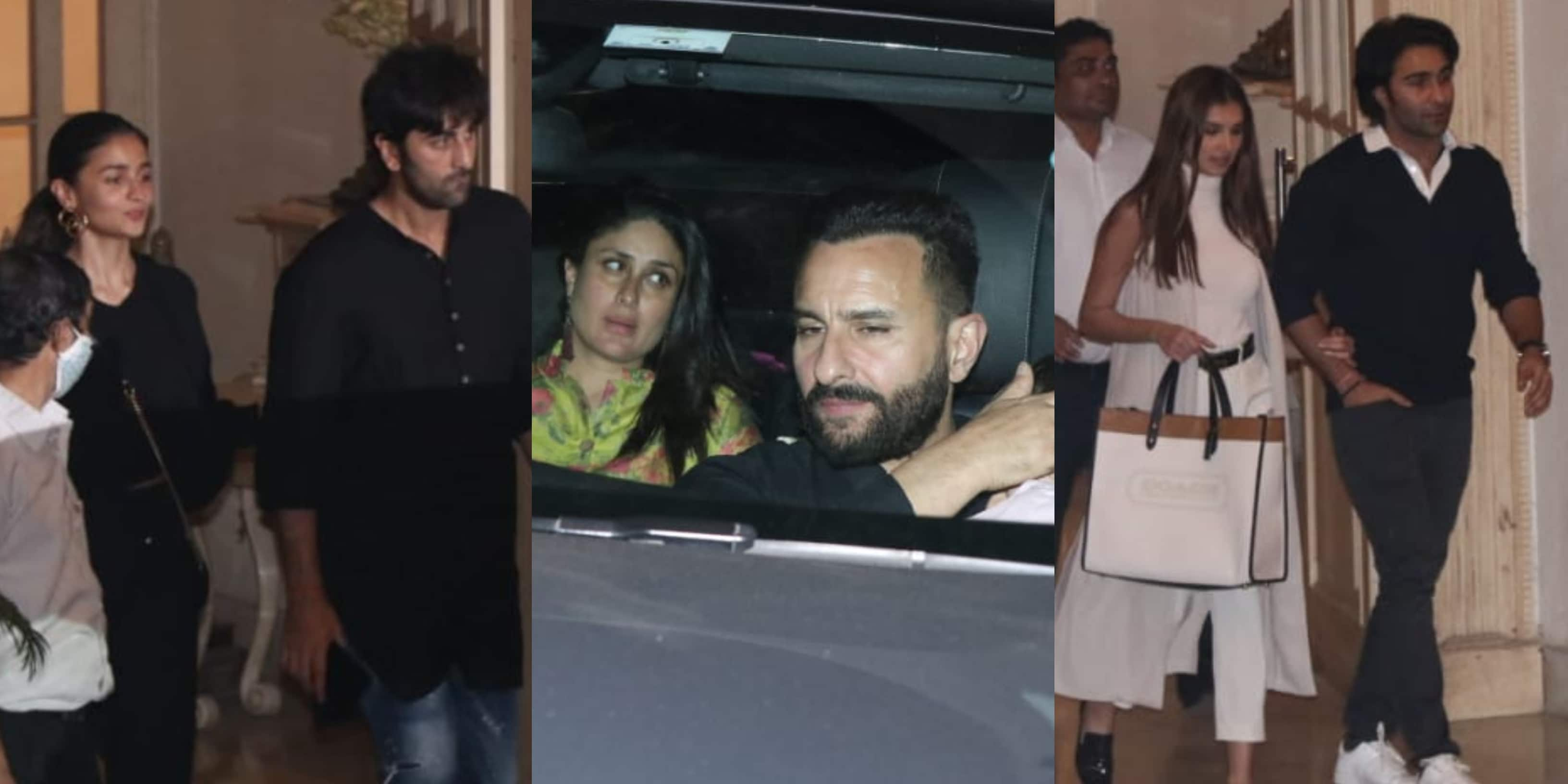 Randhir Kapoor Birthday: Kareena-Saif, Ranbir-Alia, Aadar-Tara Sutaria And Others Attend The Intimate Bash