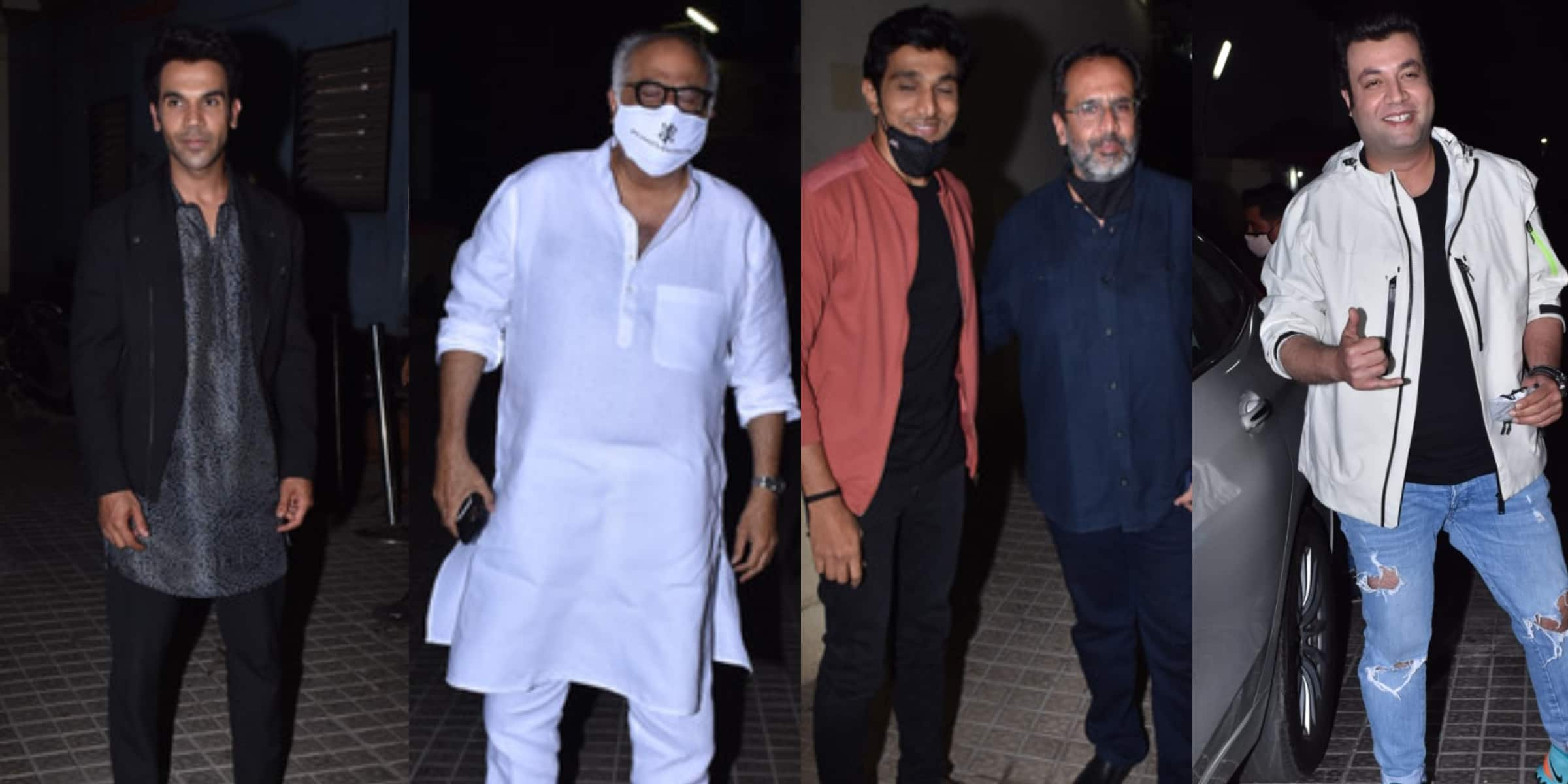 Roohi Screening: Aanand L. Rai, Ali Fazal, Boney Kapoor And Other Celebs Step Out To Watch The Film In Theatres