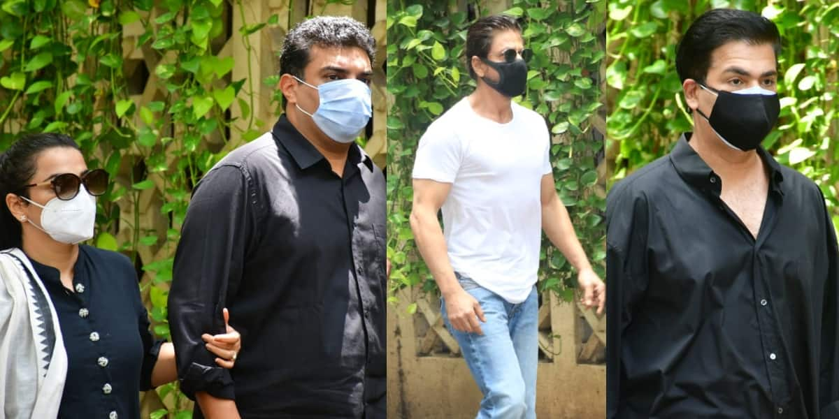 Dilip Kumar death: Shah Rukh Khan, Vidya Balan, Dharmendra and other Bollywood celebs arrive at actor's residence; see pictures