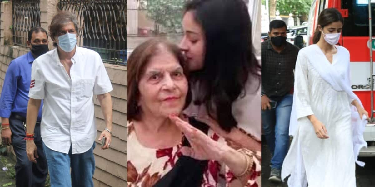 Chunky Pandey's mother passes away, celebs arrive at her home to pay last tribute; See pictures