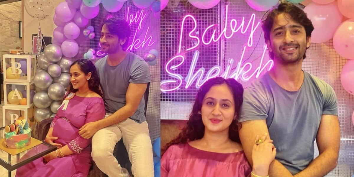 Shaheer Sheikh and Ruchikaa Kapoor's baby shower celebration was simple and  beautiful; see pictures... - DesiMartini