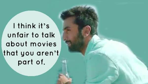 Here's What Ranbir Has To Say About Deepika And Katrina