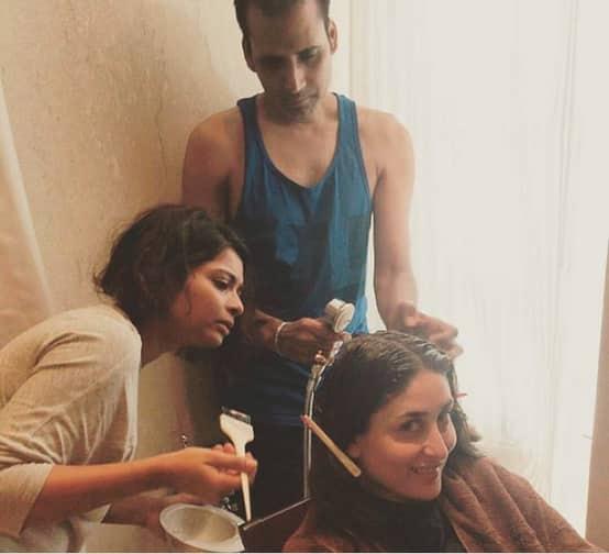 Kareena Kapoor Khan Is Sweating It Out In Delhi!