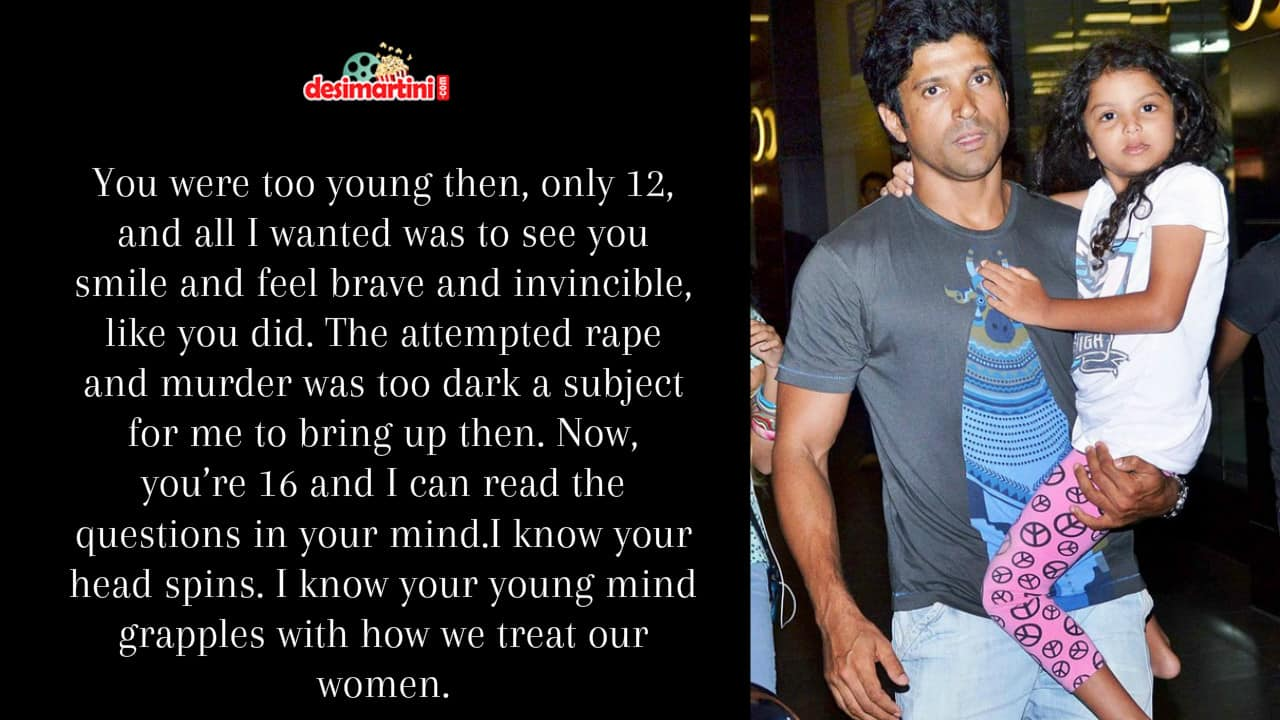 Farhan Akhtar's Open Letter To His Daughters Will Touch The Core Of Your Heart!
