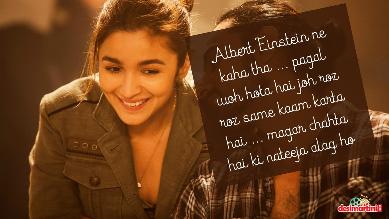 10 Beautiful Lines From Alia & SRK's Dear Zindagi Which ...