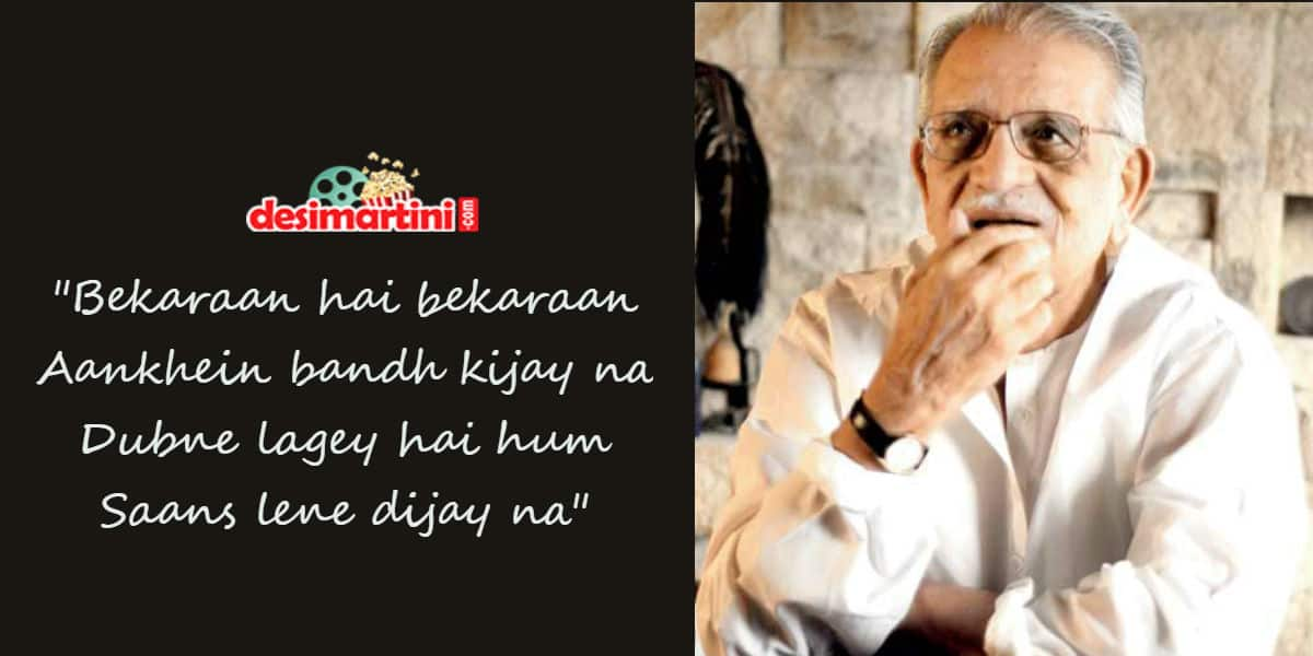 10 Lines By Gulzar That Define Life And Love!