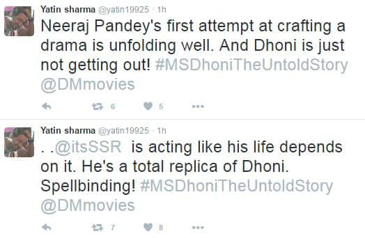 Audience Review: M.S.Dhoni-The Untold Story Is Scoring Some Solid Points Both On And Off The Field!