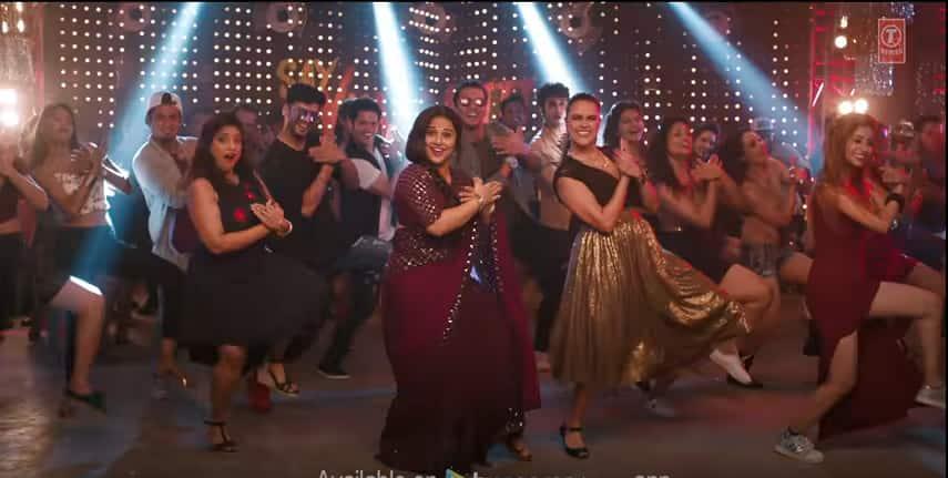 फ़िल्म 'तुम्हारी सुलू' के इस गाने में विद्या को देख आपको 'मिस्टर इंडिया' की श्रीदेवी याद आ जाएगी !