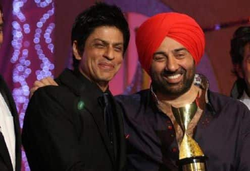 SRK and Sunny Deol