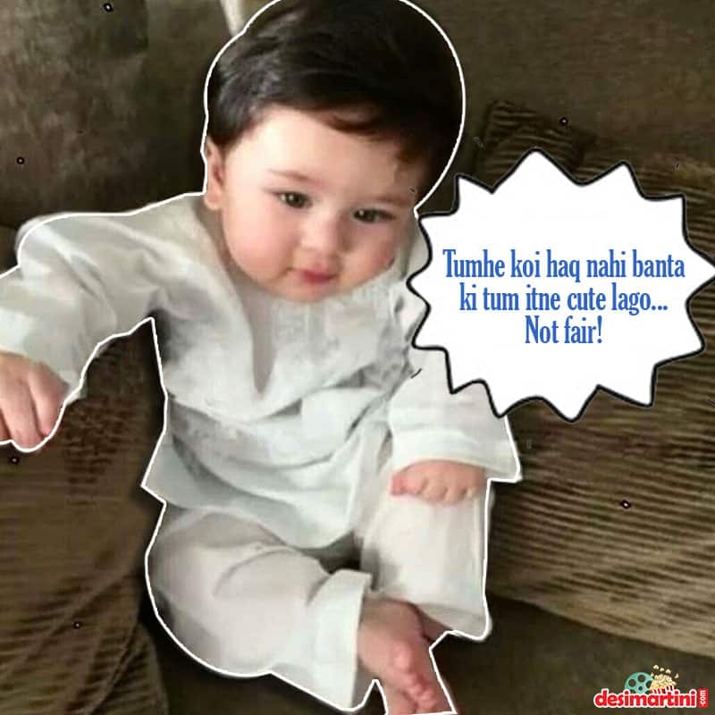 Taimur Ali Khan's Toothless Smile Is The Best Return Gift To Everyone