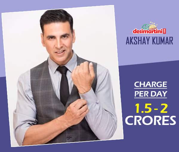 One Look At The Whooping Amount That These Bollywood Actors Charge Per Day And You Will Faint!
