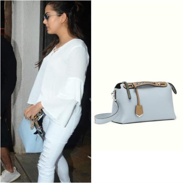 Fendi Boston Bag - Yet another Fendi number, this powder blue baby will set you back a hefty Rs. 1,27,337.