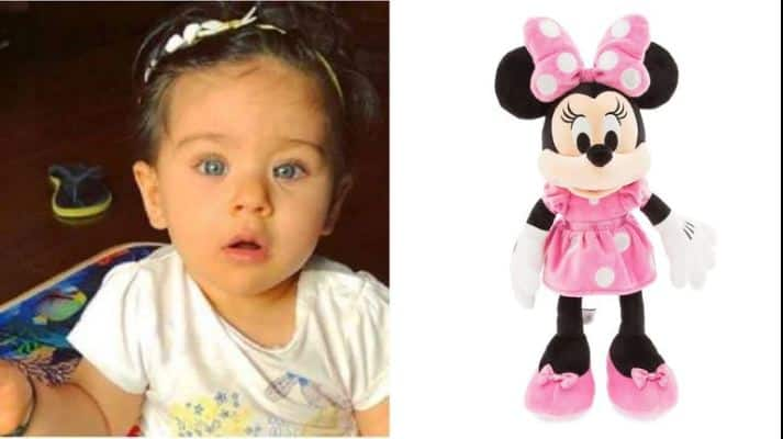 Inaaya Naumi Kemmu - Just like Minnie Mouse looks like the female version of Mickey Mouse, Inaaya looks like the female version of Taimur.