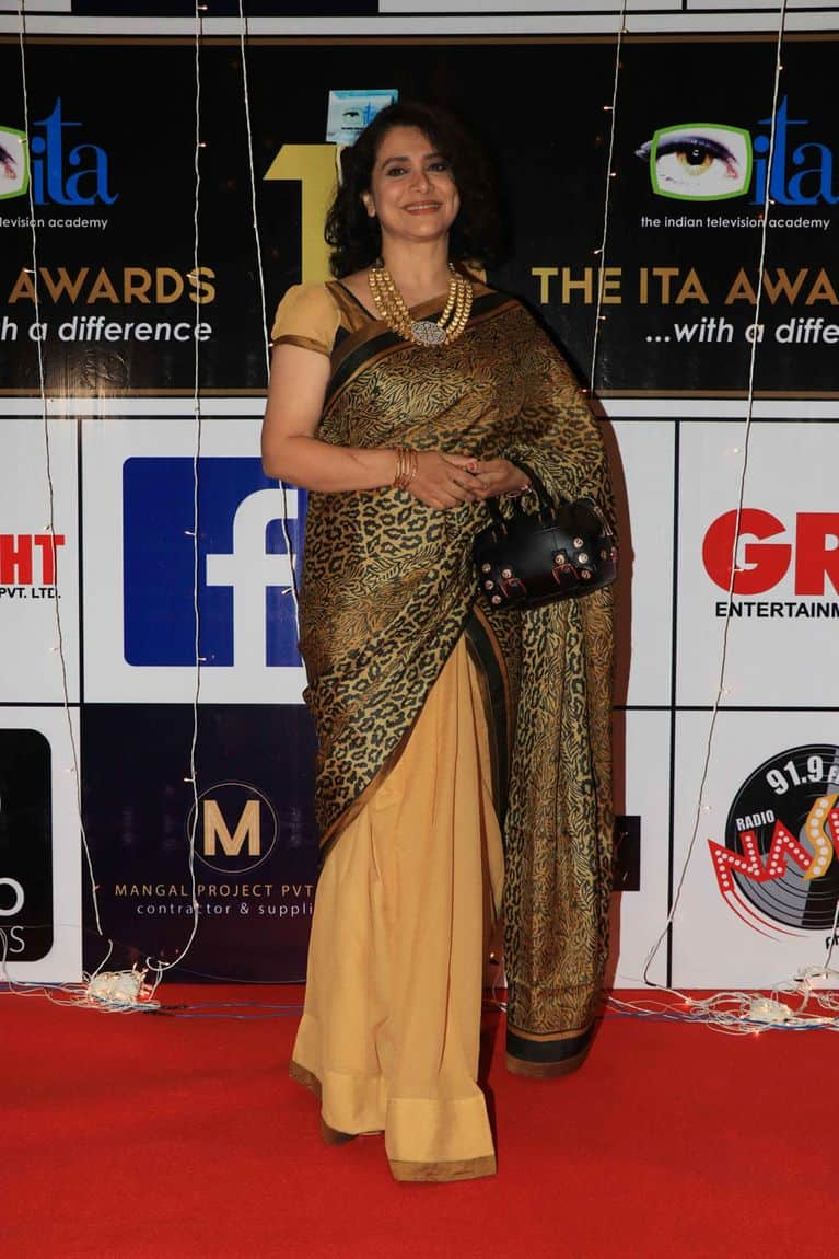 In Pictures: TV Celebs Sizzled The Red Carpet Of ITA Awards