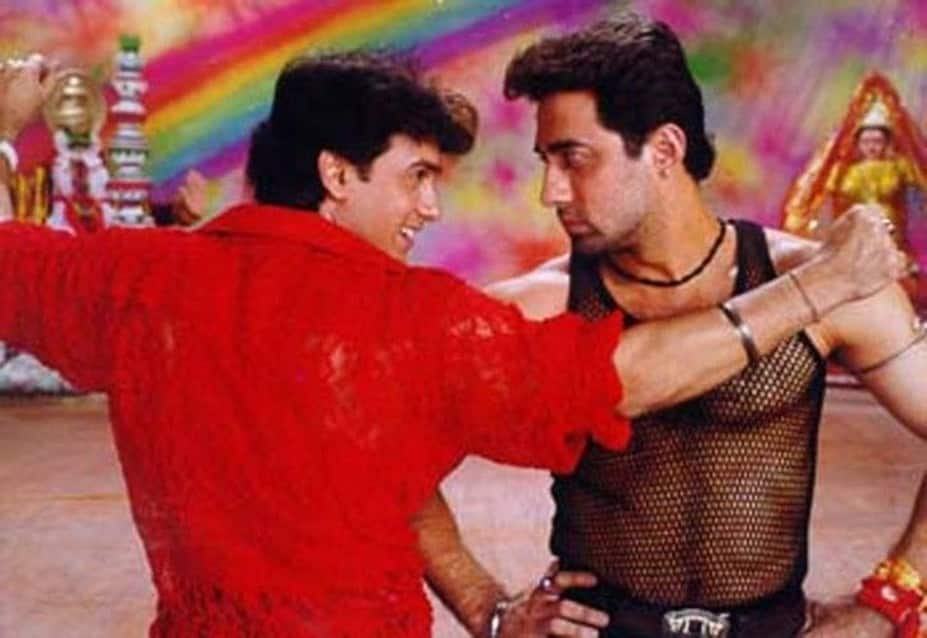 Aamir Khan and Faisal Khan -