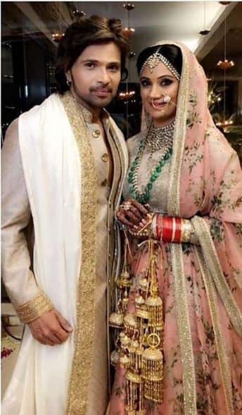 Himesh and Sonia got married on May 11th -