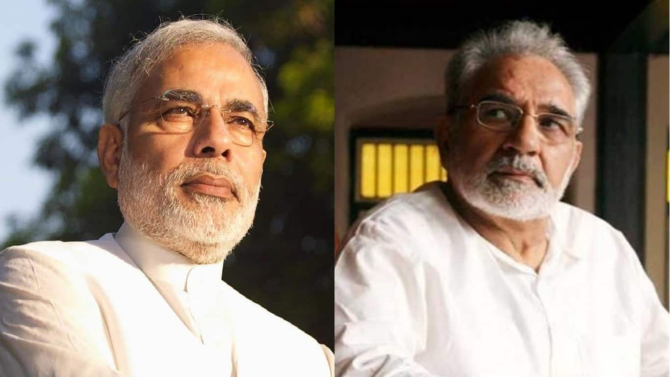 Kulbhushan Kharbanda - Yes, he is another actors who not just has the talent to play an intriguing role like that of PM Modi, but he also looks very close to our real Prime Minister!