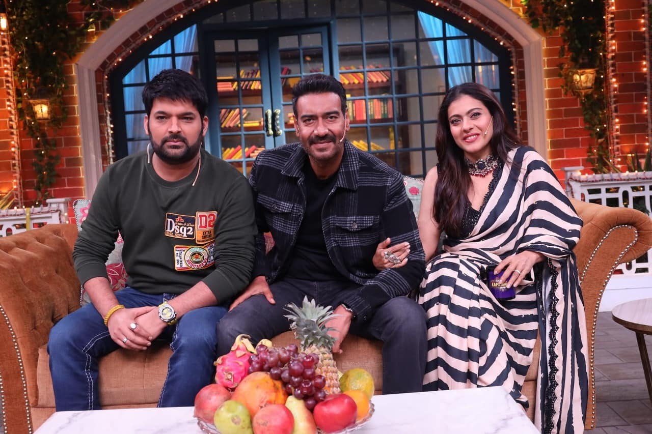 Ajay Devgn and Kajol - They went on Kapil Sharma