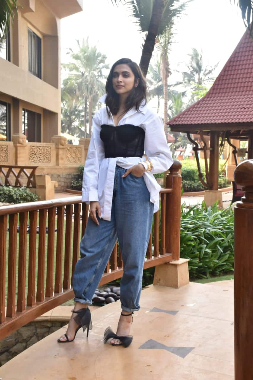Deepika Padukone - She has been making some interesting fashion choices during the promotional tour of Chhapaak.
