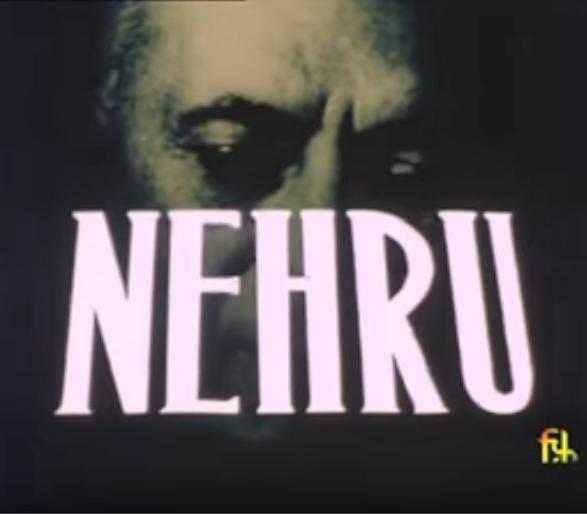 Nehru  - Nehru was a documentary that was released in 1983. Directed by Shyam Benegal, the film is a first-person biography relying for its text entirely on Nehru