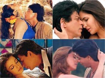 Image result for shahrukh neck kissing