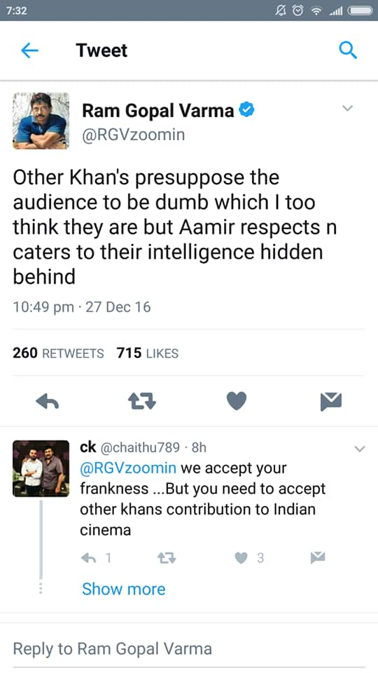 Check Out Ram Gopal Varma's Shocking Tweet On Dangal!