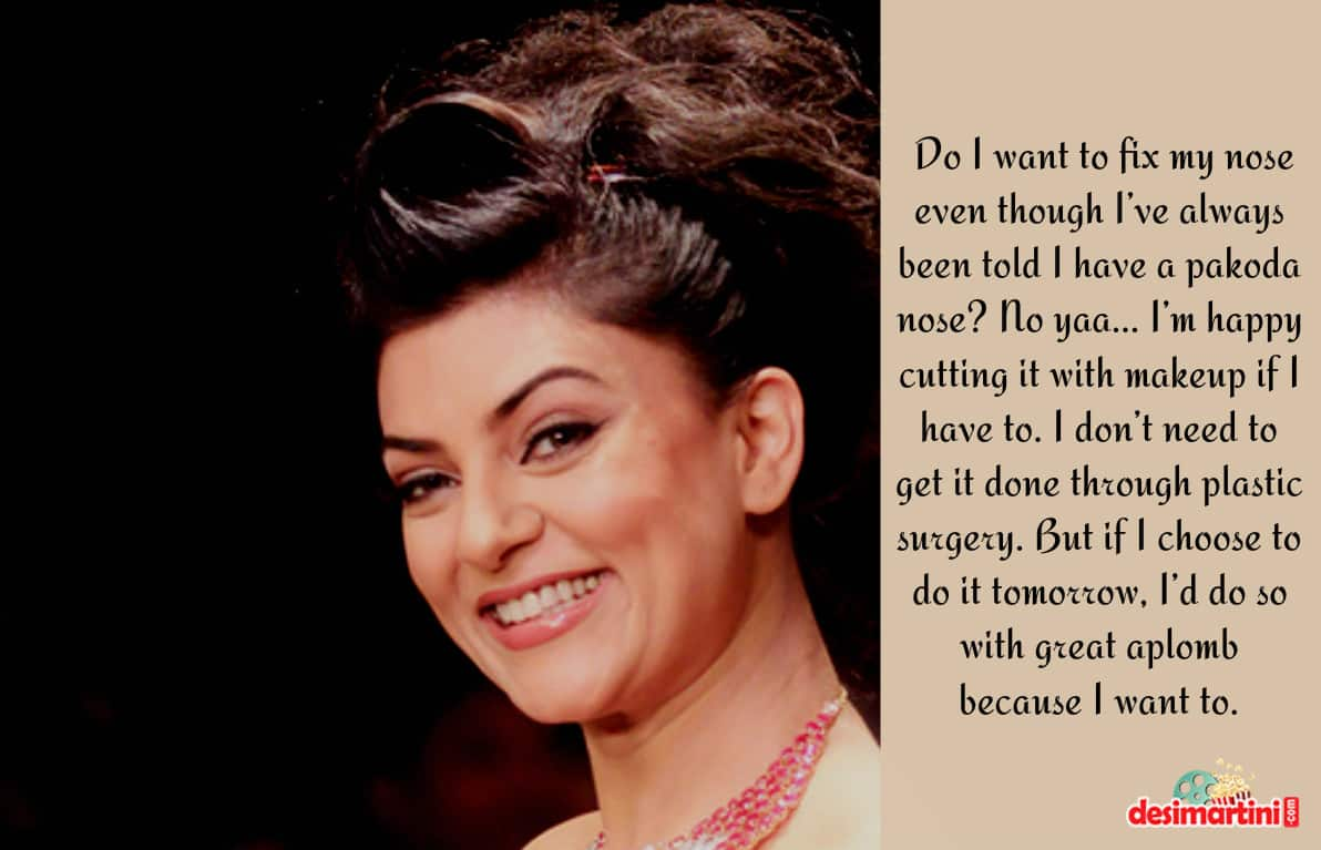 10 Quotes By Sushmita Sen Which Prove She's A Thinking Man's Woman
