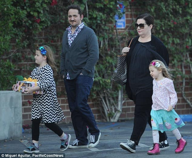 Does melissa mccarthy have children