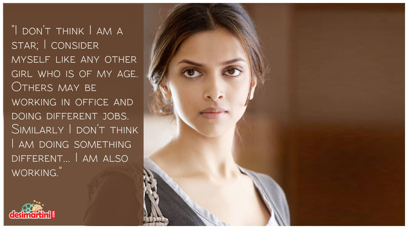 12 Quotes By Deepika Padukone Which Voice Every Girl's Emotions!