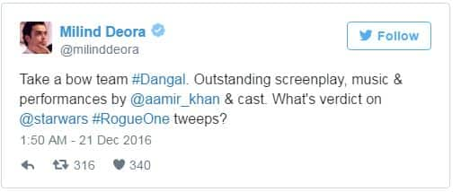 Here's What Celebrities Have To Say After Watching Aamir Khan's Dangal
