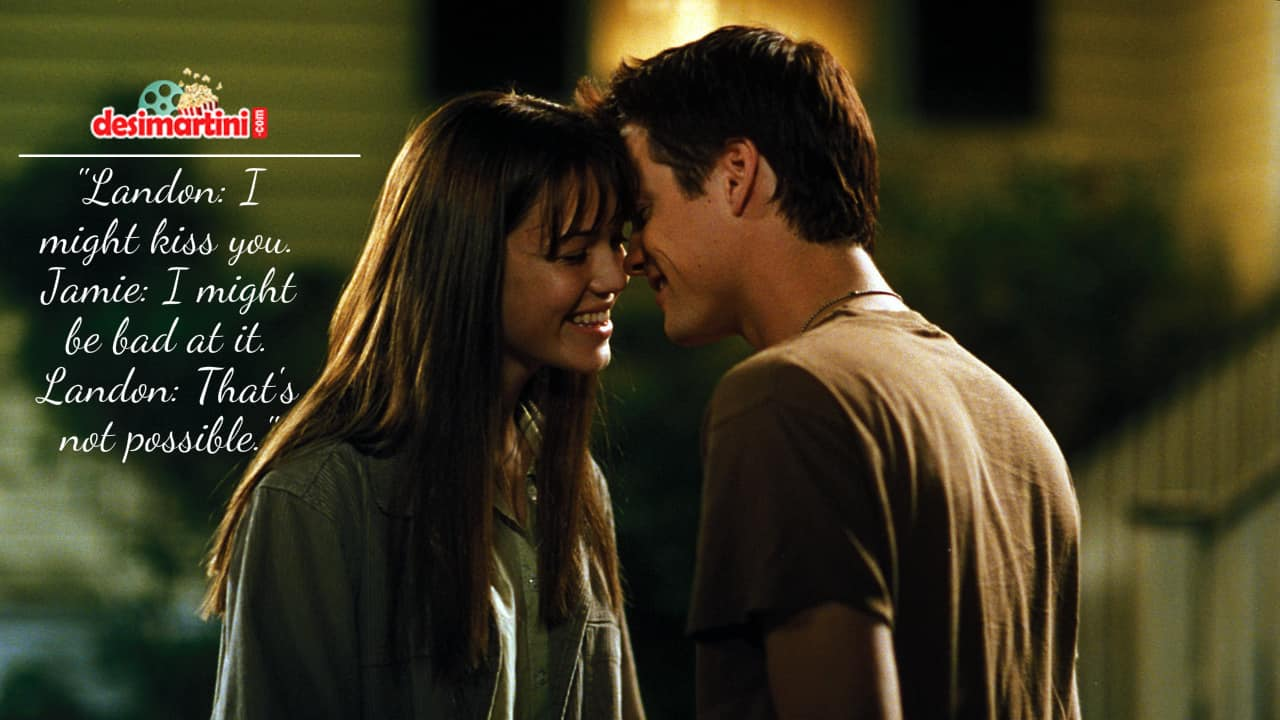 9 Quotes From A Walk To Remember Which Prove Love Is Beautiful!
