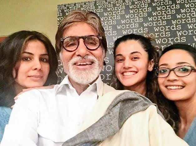 Amitabh Bachchan Wraps Up 'Pink'