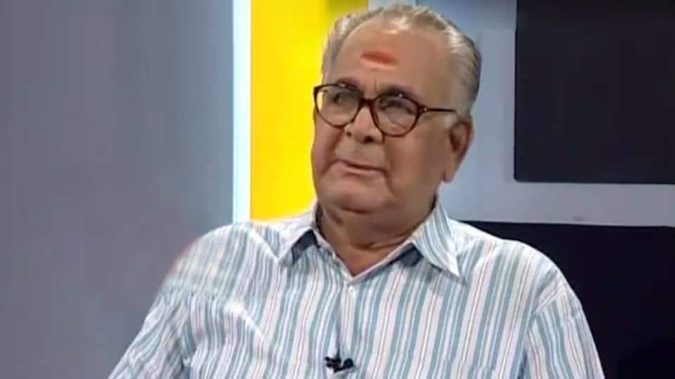 Malayalam Actor Jagannatha Varma Passed Away