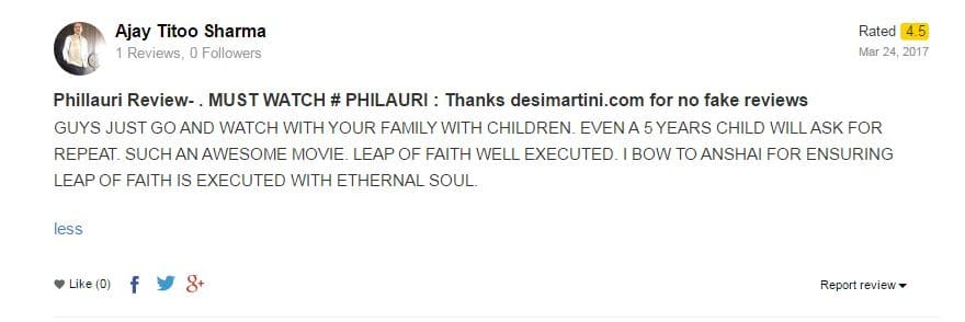 Anushka Sharma's Dad Ajay Sharma Wrote A Review For Phillauri On Desimartini And It Is The Sweetest Thing Ever!