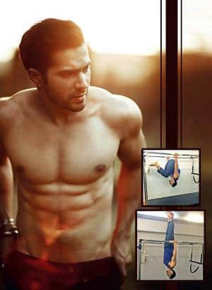 Varun Training Hard For Bare-Bodied Fight Sequence In Dishoom