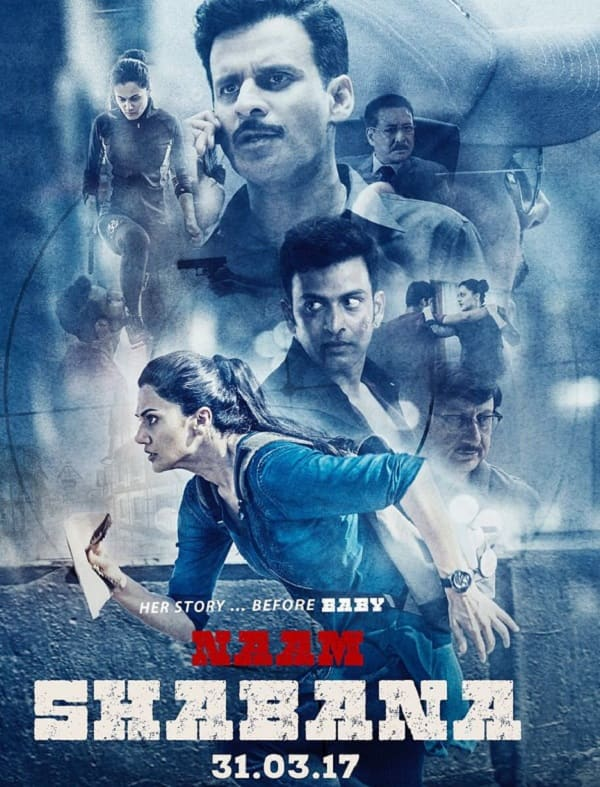 Taapsee Pannu's 'Naam Shabana' Poster Unveiled!