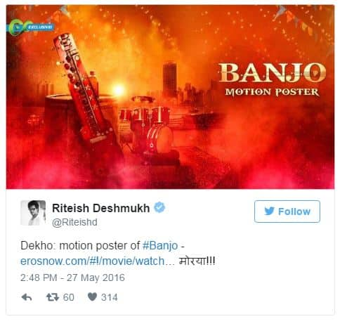 Banjo Motion Poster Is Out. And It Is Really Scintillating!