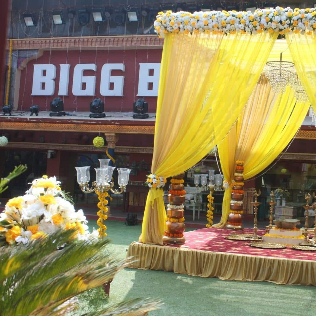 Gallery- In Pictures: Monalisa and Vikrant's Marriage Inside Bigg Boss House! photo