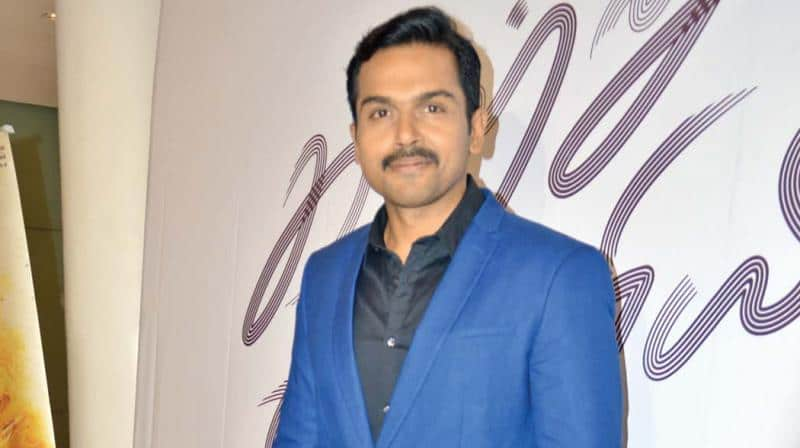 Karthi Turns A Fighter Pilot For His Next