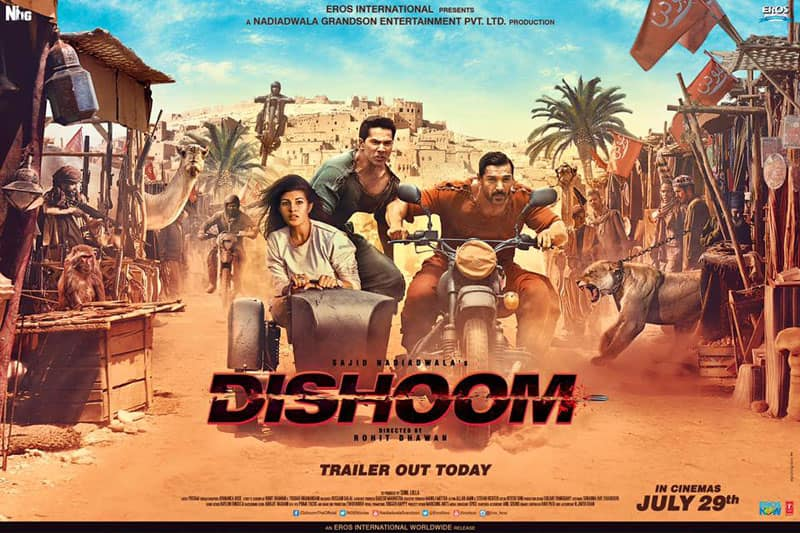 Dishoom Shows Strength, Collects This Much In Two Days