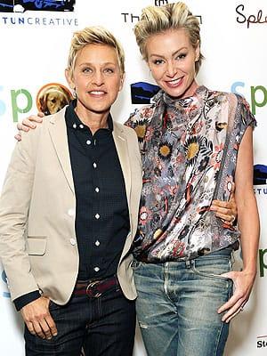 Ellen DeGeneres- Portia de Rossi Heading Spiltsville?