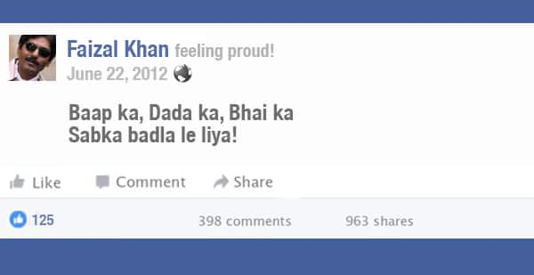 Here's What The Posts Of These Popular Bollywood Characters Would Look Like If They Joined Facebook!