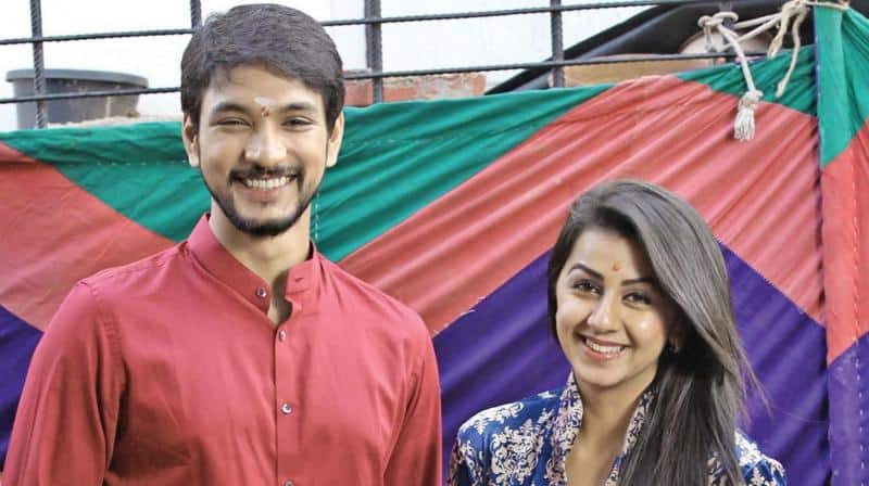 Gautham, Nikki Galrani Team Up For Hara Hara Mahadevaki
