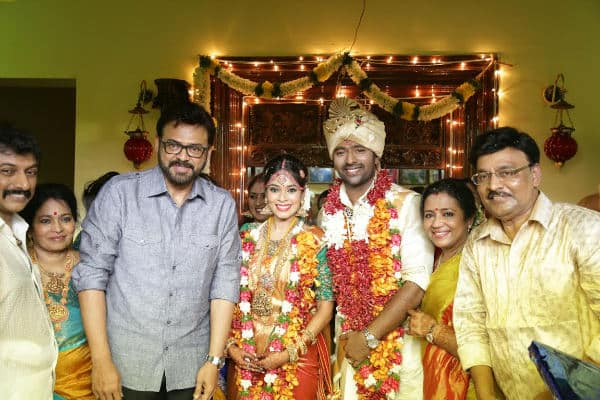 Shanthanu Bhagyaraj Enters Wedlock With Keerthi