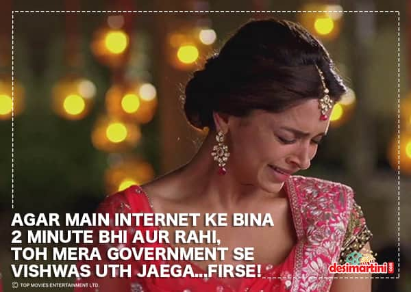 What If Government Bans Internet Usage On Bollywood!