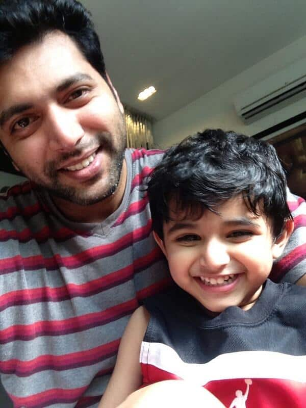 Jayam Ravi's Son Aarav To Turn Real Relationship Into Reel One For Tik Tik Tik