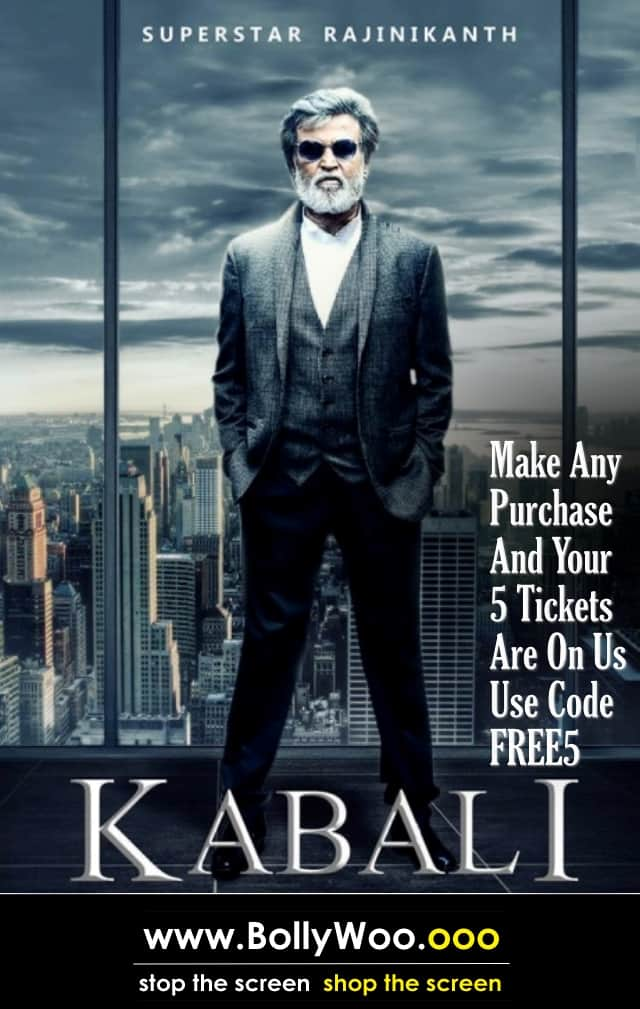 Dress Like Your Favourite Movie Star And Get 5 Free Tickets To Superstar Rajinikanth's Kabali!