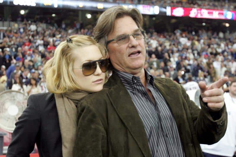 Kate Hudson Talks About Working With Her 'Dad', Kurt Russell